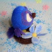 Куклы и игрушки ручной работы. Ярмарка Мастеров - ручная работа игрушка войлочная Птичка. Handmade.