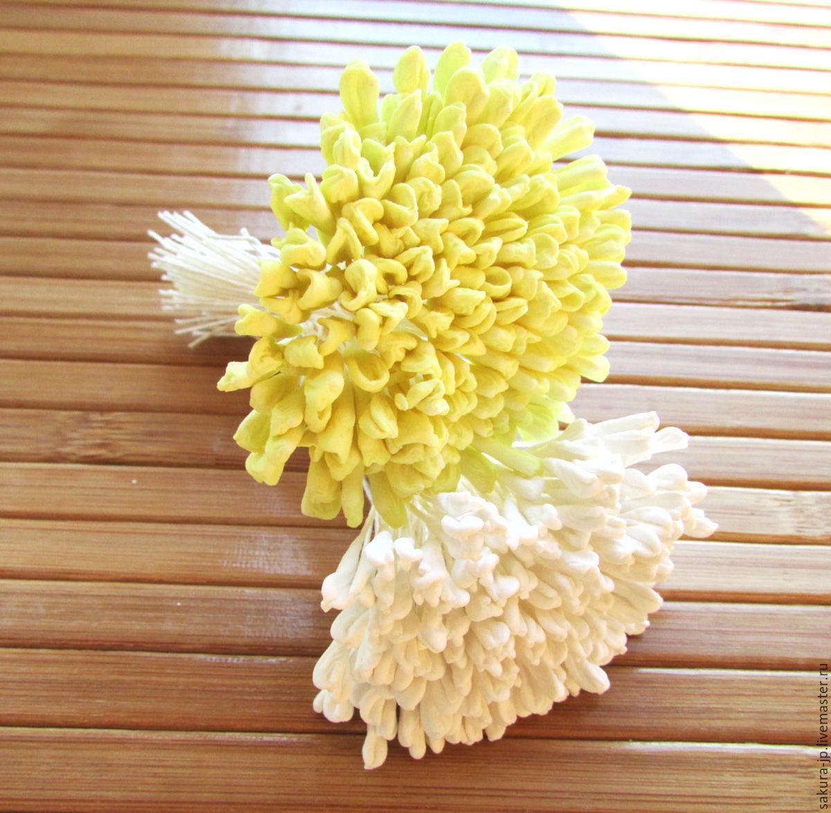 Japanese stamens for lilies, iris, Tulip. ` SAKURA` - materials for citadele. Fair Masters.
