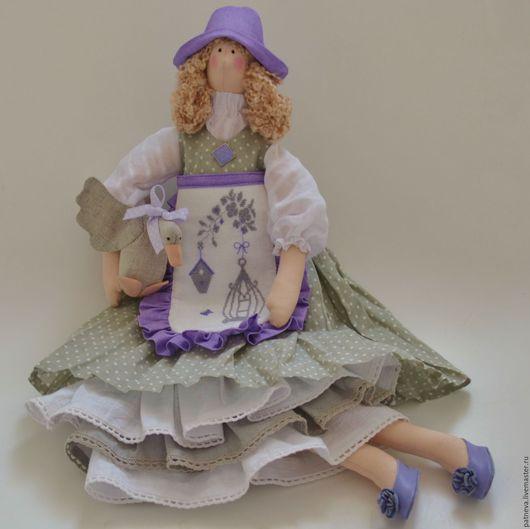 Текстильная кукла тильда в стиле прованс