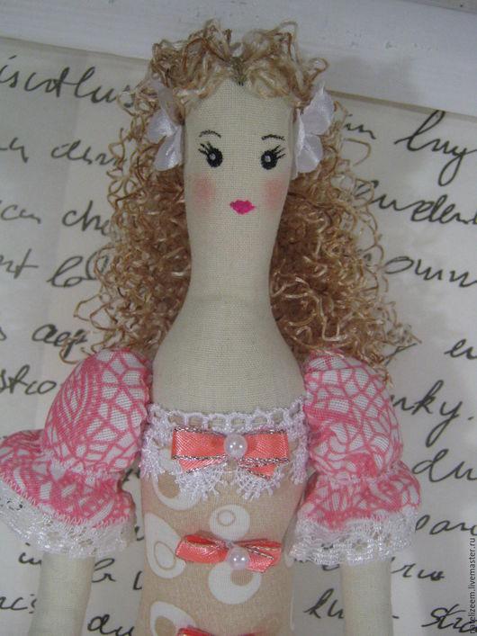 Куклы Тильды ручной работы. Ярмарка Мастеров - ручная работа. Купить текстильная интерьерная кукла Тильда. Handmade. Белый, тильда