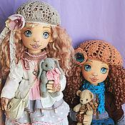 Куклы и игрушки ручной работы. Ярмарка Мастеров - ручная работа Интерьерная текстильная кукла Мила. Handmade.