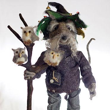 Куклы и игрушки ручной работы. Ярмарка Мастеров - ручная работа Крыса с совами. Handmade.