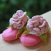 Обувь ручной работы. Ярмарка Мастеров - ручная работа Тапочки для маленькой принцессы. Handmade.