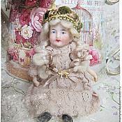 Куклы и игрушки ручной работы. Ярмарка Мастеров - ручная работа Мария-Антуанетта - реконструкция антикварной куколки. Handmade.