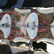 Одежда ручной работы. Ярмарка Мастеров - ручная работа шерстяная жилетка. Handmade.