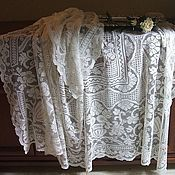 Винтаж handmade. Livemaster - original item Vintage tablecloth