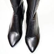 """Обувь ручной работы. Ярмарка Мастеров - ручная работа Сапоги """"Классика"""". Handmade."""