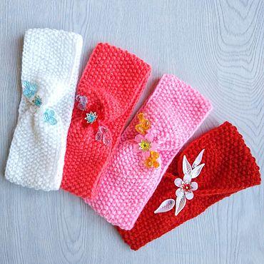 Clothing handmade. Livemaster - original item Headbands for girls 4-5 years.. Handmade.