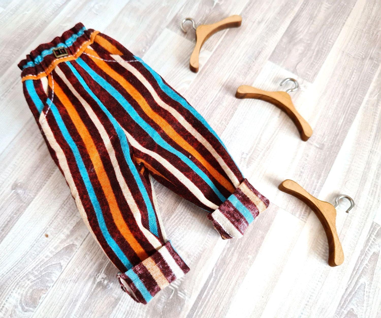 Брючки для блайз с подворотом, Одежда для кукол, Благовещенск,  Фото №1