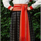 Русский стиль ручной работы. Ярмарка Мастеров - ручная работа Пояс-кушак для народного костюма. Handmade.