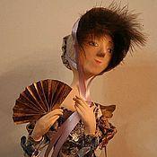 Куклы и игрушки ручной работы. Ярмарка Мастеров - ручная работа Ангел с веером. Handmade.