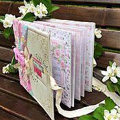 handmade. Livemaster - original item Photo album women`s Tea rose. Handmade.