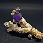 Фен-шуй и эзотерика handmade. Livemaster - original item Pendulum of amethyst. Handmade.