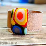 Украшения handmade. Livemaster - original item Jewelry sets: bracelet made of glass, fusing.. Handmade.