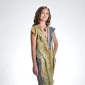 Одежда ручной работы. Ярмарка Мастеров - ручная работа Платье Ивушка. Handmade.
