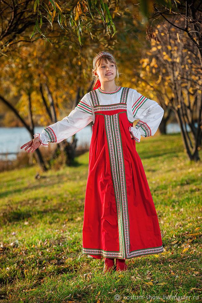 Арт.1214 детский, Народные костюмы, Москва,  Фото №1