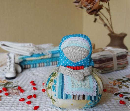 Народная обережная куколка Благополучница, ручная работа, для привлечения в дом достатка. Ясное лето. Народные традиции. Рустик.