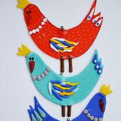 Для дома и интерьера ручной работы. Ярмарка Мастеров - ручная работа Птица Счастья из стекла. Handmade.