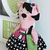 Куклы и игрушки ручной работы. Ярмарка Мастеров - ручная работа Ми-мишка Кэтти. Handmade.