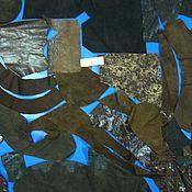 Материалы для творчества ручной работы. Ярмарка Мастеров - ручная работа набор кожи   для творчества№4. Handmade.