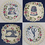 Картины и панно handmade. Livemaster - original item Sampler: Cross stitch embroidery Workshop. Handmade.