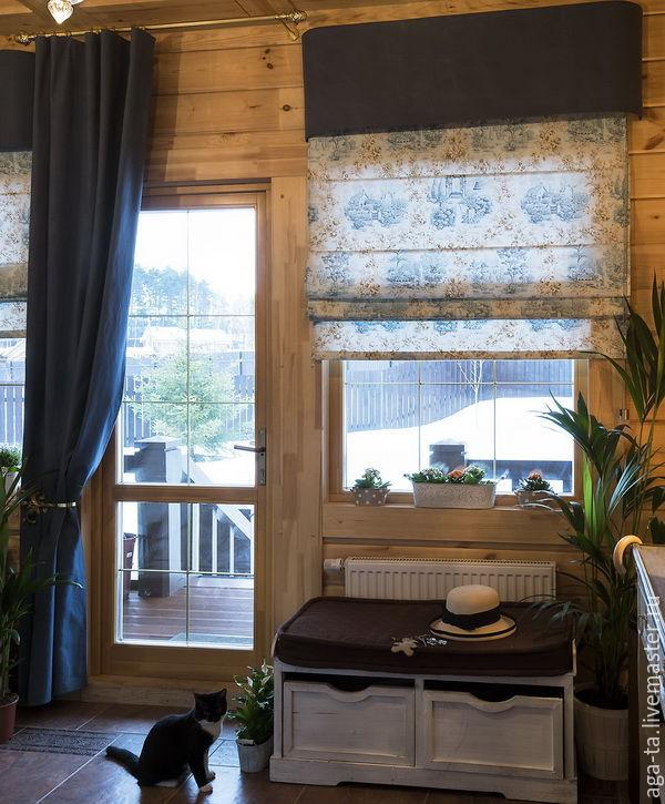 на дачу тюль шторы внутри окна фото