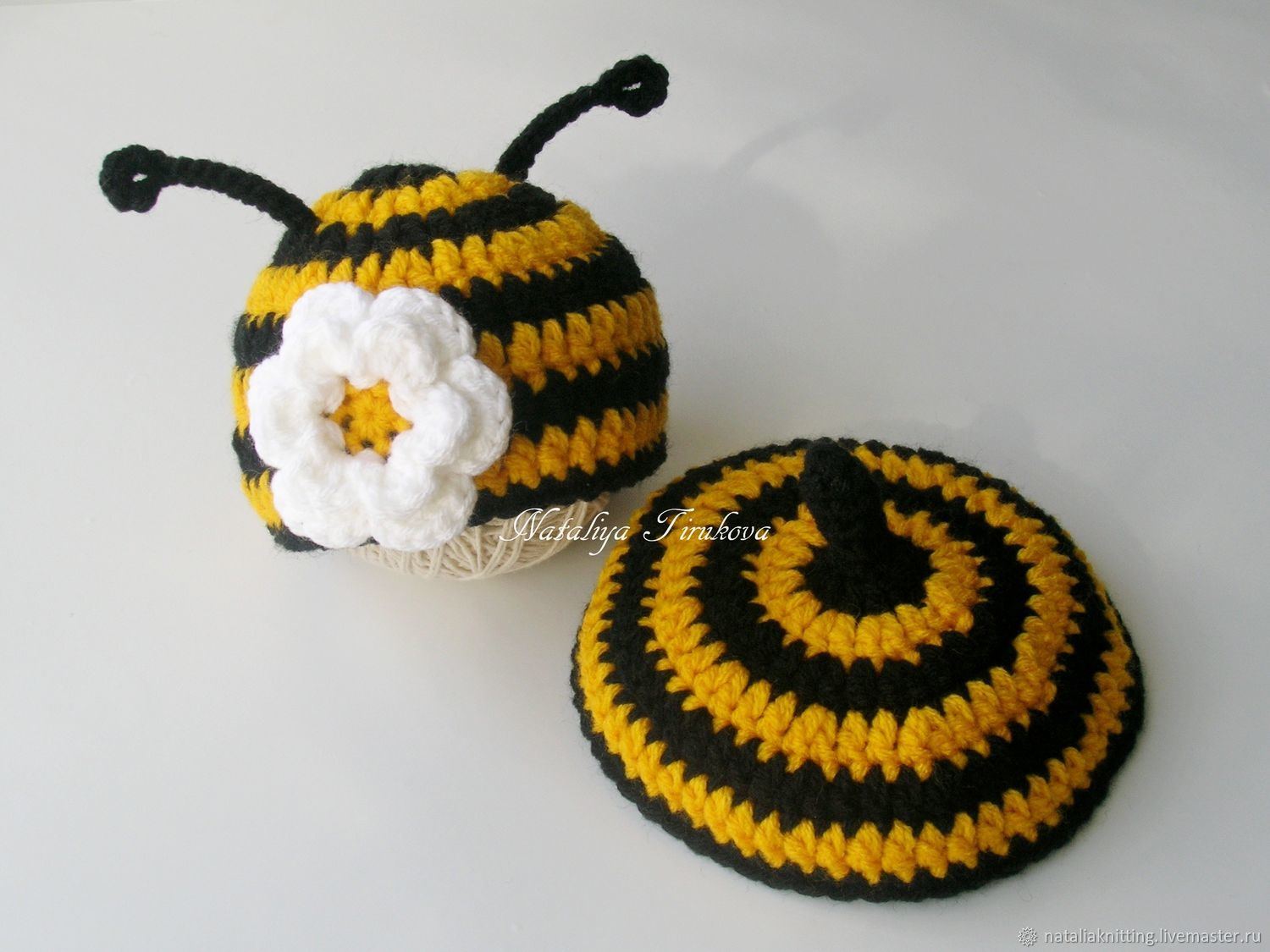 All About Crochet Bumble Bee Hat And Tushie Cover Pattern Repeat