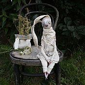 Куклы и игрушки ручной работы. Ярмарка Мастеров - ручная работа Зайка Тиша. Handmade.