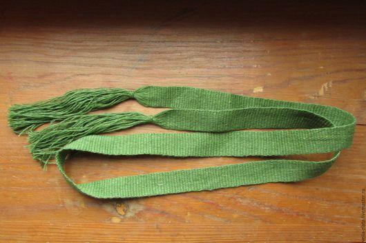 Одежда ручной работы. Ярмарка Мастеров - ручная работа. Купить очелье льняное. Handmade. Комбинированный, Ткачество, бердо, льняное очелье