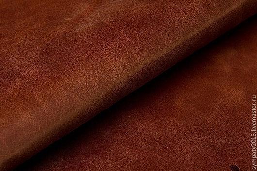 Шитье ручной работы. Ярмарка Мастеров - ручная работа. Купить Натуральная кожа КРС гладкая (новые поступления) цвет коньяк +1 товар. Handmade.
