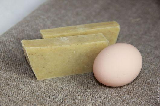 Мыло с нуля - `Яичное`. Натуральная косметика ручной работы.
