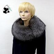Аксессуары handmade. Livemaster - original item Fur detachable collar boa Fox fur. Art. ТК-319. Handmade.