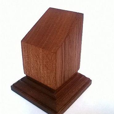 Сувениры и подарки ручной работы. Ярмарка Мастеров - ручная работа Подставка под миниатюры из сапеле. Handmade.