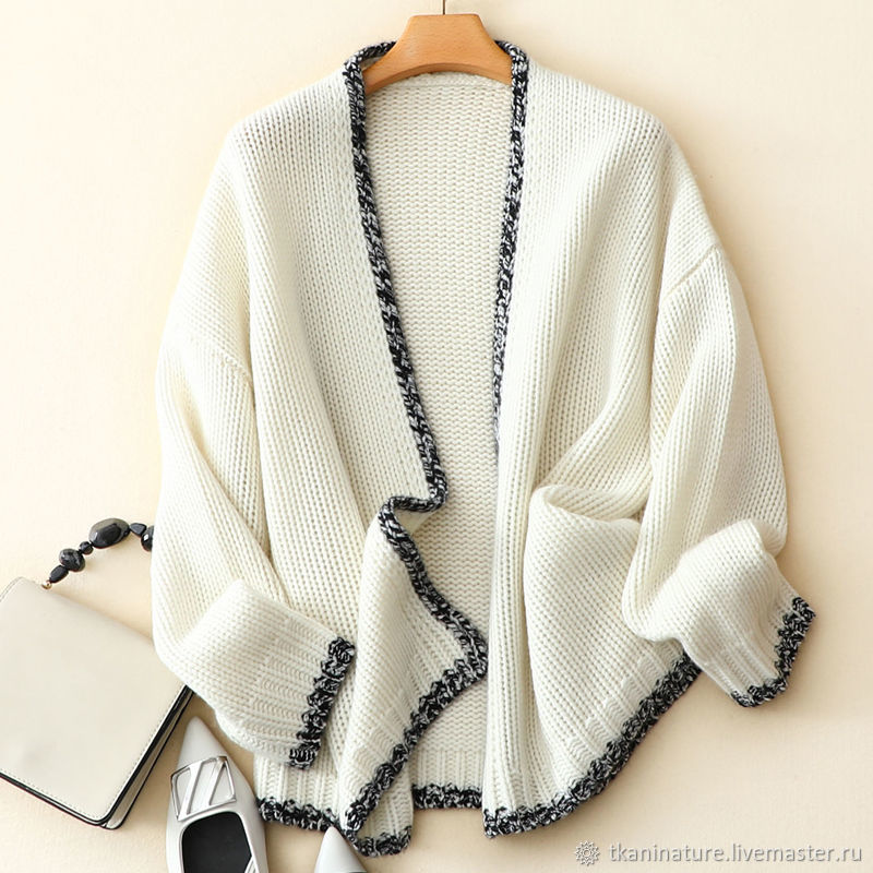 Thick knit Chanel cardigan (extra class cashmere ), Cardigans, Ekaterinburg,  Фото №1