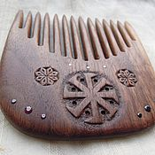 Сувениры и подарки ручной работы. Ярмарка Мастеров - ручная работа Гребень Ладинец, американский орех. Handmade.