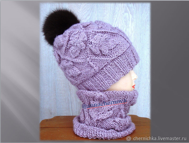 Knitted set ' Dubrava', Headwear Sets, Kostroma,  Фото №1