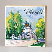 Сувениры и подарки handmade. Livemaster - original item Souvenir magnets Ivanovo. Handmade.