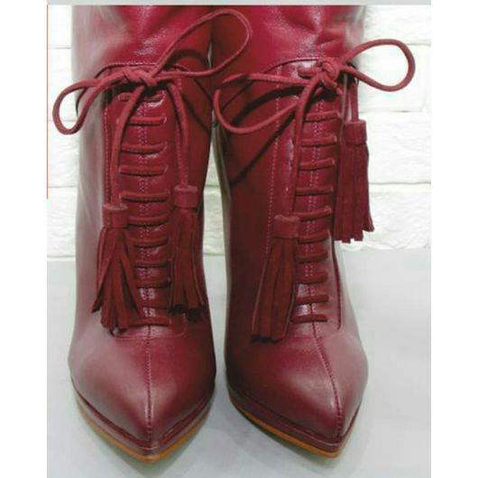 Обувь ручной работы. Ярмарка Мастеров - ручная работа. Купить Сапожки ручной работы. Handmade. Сапоги женские, сапоги из кожи