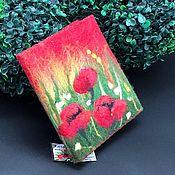 Блокноты ручной работы. Ярмарка Мастеров - ручная работа Блокнот «Шерстяная акварель». Handmade.