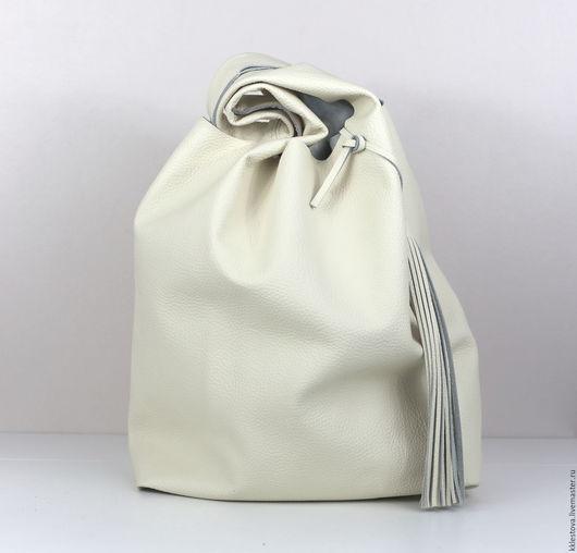 Женские сумки ручной работы. Ярмарка Мастеров - ручная работа. Купить Сумка - Мешок - Пакет большого размера с карманом. Handmade.