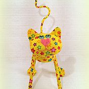 Куклы и игрушки ручной работы. Ярмарка Мастеров - ручная работа Маленький  котёнок (12,5 см ))). Handmade.