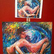 Картины и панно ручной работы. Ярмарка Мастеров - ручная работа Копии картин на заказ. Handmade.