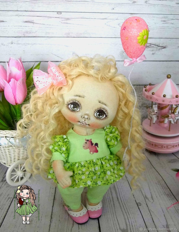 Текстильная кукла Ия коллекционная интерьерная, Куклы и пупсы, Буй,  Фото №1