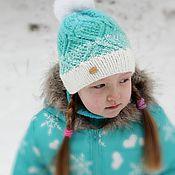 Работы для детей, ручной работы. Ярмарка Мастеров - ручная работа Зимняя шапочка. Handmade.