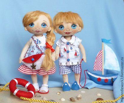 коллекционная кукла, воспоминания о море