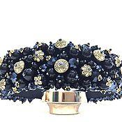 Украшения handmade. Livemaster - original item A rim of beads and stones in the style of Dolce. Handmade.