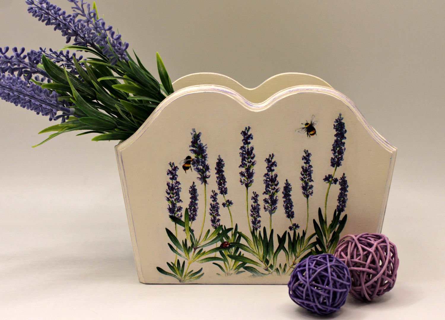 Box Lavender mood decoupage, Storage Box, Moscow,  Фото №1