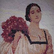 """Картины и панно ручной работы. Ярмарка Мастеров - ручная работа Ручная вышивка """"Графиня Броунлоу"""". Handmade."""