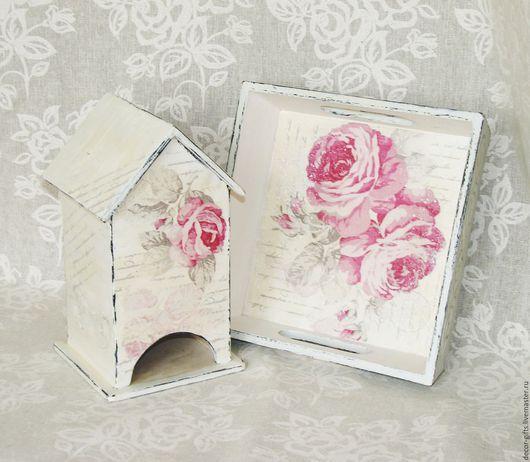 Набор на кухню Розы белый