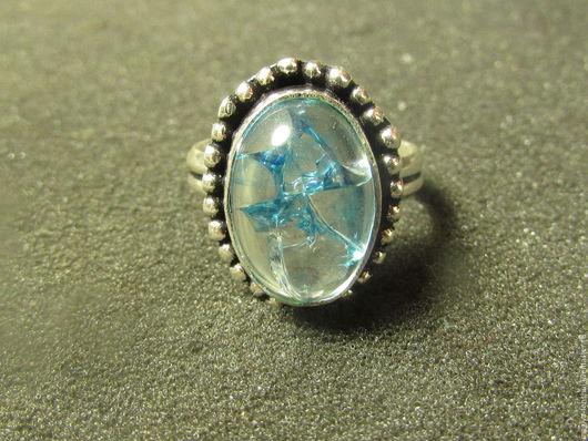 Кольца ручной работы. Ярмарка Мастеров - ручная работа. Купить кольцо из кварца. Handmade. Голубой, кольцо из кварца